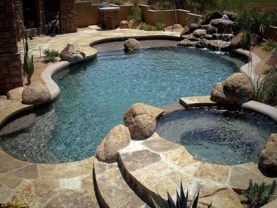 construcción piscinas naturales
