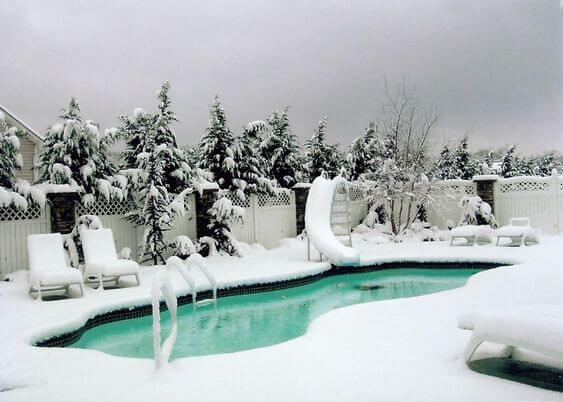 como hacer un buen mantenimiento de piscinas en invierno